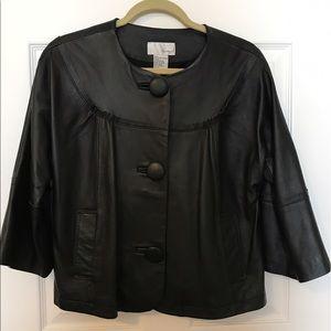 Spiegel Leather Swing Jacket.