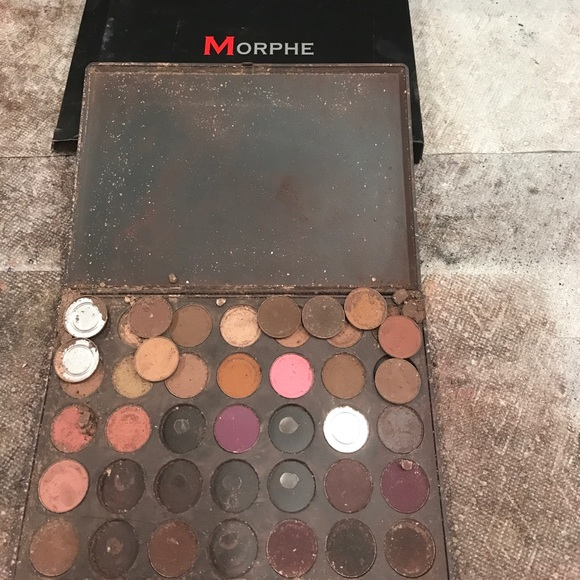 Makeup Never Used Morphe Eyeshadow Palette 35n14 Poshmark