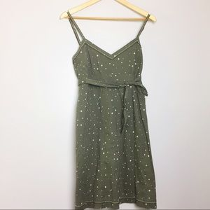 American Eagle Outfitters Dresses & Skirts - American Eagle Outfitters Gray Polka Dot Dress