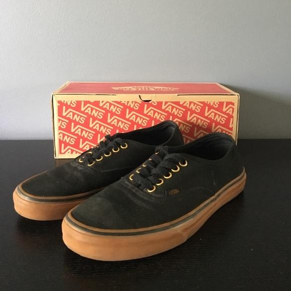 Vans Shoes | Vans Authentic Blackrubber