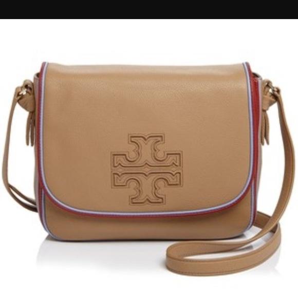 db806ac36d2a 🆕Tory Burch Harper Stripe Messenger Crossbody bag