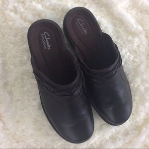 Clarks Shoes - Womens Brown Clarks Bendables 10W Weave Design