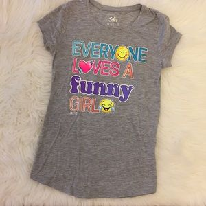 Justice Other - Everyone Loves A Funny Girl Justice Graphic Tee