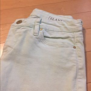 Blank NYC Jeans - Mint Green Skinny Jeans