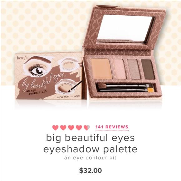 8460bc14c0c Benefit Makeup   Big Beautiful Eyes Eyeshadow Palette   Poshmark