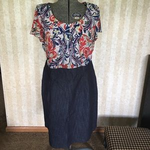 Alyx Dresses & Skirts - Beautiful blue and red dress.