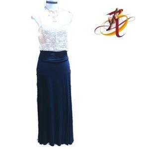 Dresses & Skirts - Classic Navy Maxi Skirt