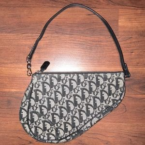 Authentic Christian Dior Saddle Bag