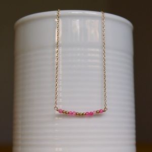 "Jewelry - 💖Code Necklace: ""Love""💖 Morse Code Bar Necklace"