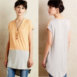 Anthropologie Colordrop Tunic By Dolan