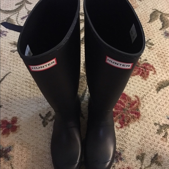 15 off hunter boots shoes new hunter boots tall size 8