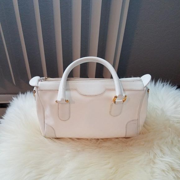 43bcae95b25 Gucci Handbags - WHITE GUCCI VINTAGE MONOGRAM SPEEDY BAG PURSE