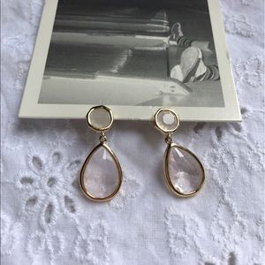 Anthropologie Jewelry - Nwt anthropologie enclosed tear drop earrings