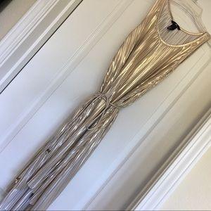 Super fun gold dress!
