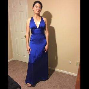 Dresses & Skirts - Royal Blue elegant maxi dress