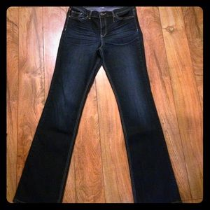 New York & Company Denim - New York & Company beautiful dark wash jeans long