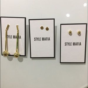 Accessories - Gold earrings