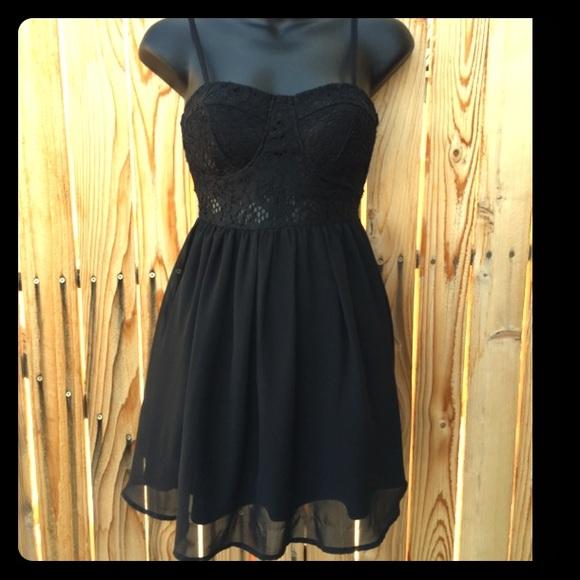 a28fd8c183f Material Girl Lace Corset Top Party Dress. M 5952c96e36d59482650ce670