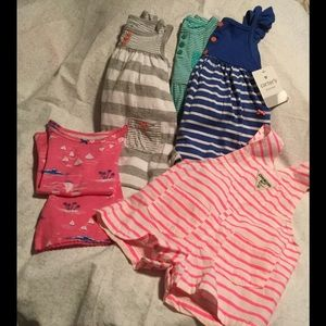 Other - BABY GIRL SZ. 9M LOT OF 5 OUTFITS some NWTS⭐️