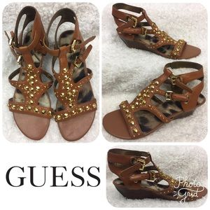 LIKE NEW ***GUESS*** Sandals Size 5.5! *ADORABLE*!