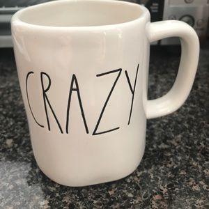 "Rae Dunn Other - Rae Dunn ""Crazy"" mug"