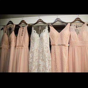 Dresses & Skirts - ✨Christina Wu Blush Bridesmaids Dress✨