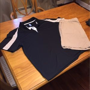 Other - Men's golf outfit- shirt and shorts