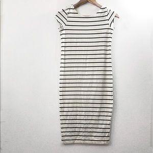 Dresses & Skirts - Thin striped midi dress