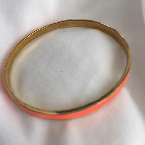 J. Crew Jewelry - J crew neon orange bracelet