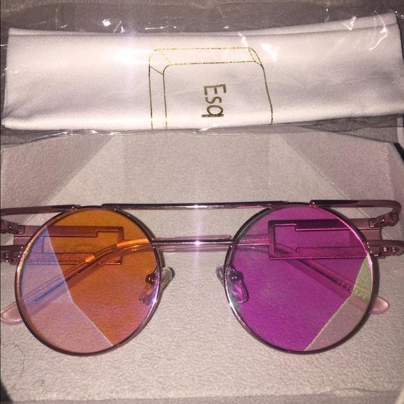 0ba4d9f1f6f0d ESQAPE Speqz Pink Halo Sunglasses