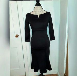 Goddess Dresses & Skirts - NWT elegant black mermaid dress