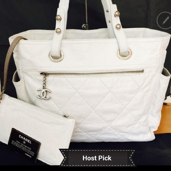467e484167c3 CHANEL Handbags - Chanel White