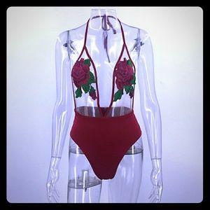 Fashion Nova Other - Sexy Rose Swimsuit