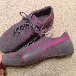 PUMA sneakers grey pink 5.5