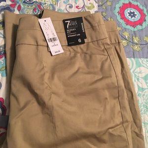 New York & Company Pants - Khaki dress pants