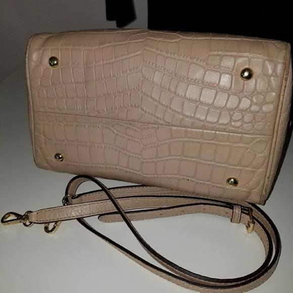 7c2352ed897bb2 62% off Michael Kors Handbags - Michael Kors Lt. Beige small satchel w long