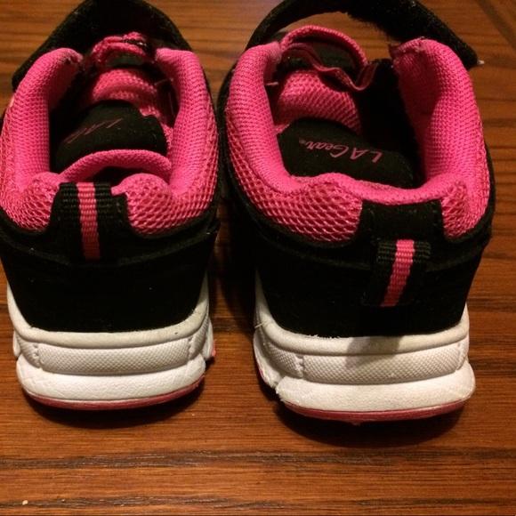 LA Gear Baby Girl s LA Gear Light up Sneakers Size 7
