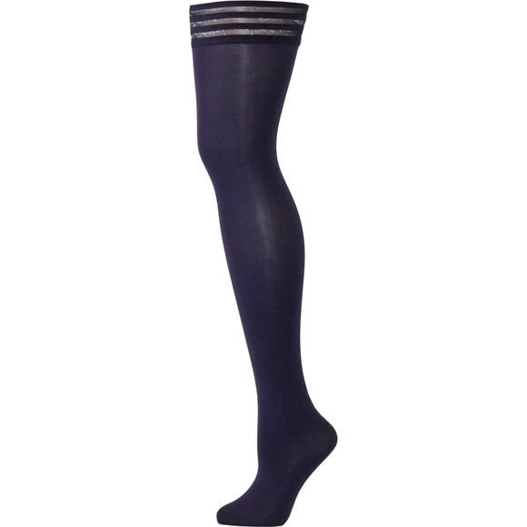 c653265ff467f VienneMilano Accessories | Claudia Purple Thigh High Stockings ...