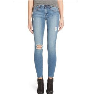 Articles Of Society Denim - Articles of Society Sarah Distressed Skinny Jeans
