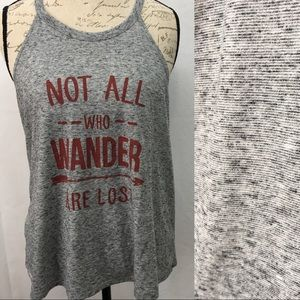 Stranded Tops - Not All Who Wander Are Lost Tank