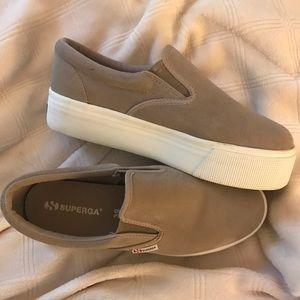 Superga Shoes - Superga Platform Slide On