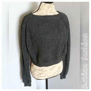 Brandy Melville Sweaters - Brandy ❤ Melville gwen gray sweater