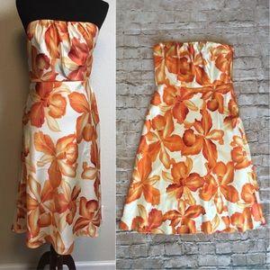 Banana Republic Silk Floral Dress