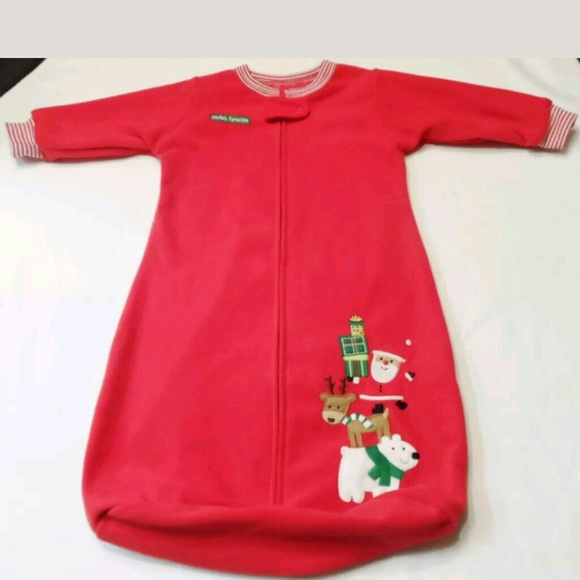 Carter s Other - Unisex Baby Blanket Sleeper Christmas 0-9 months e40fe651b
