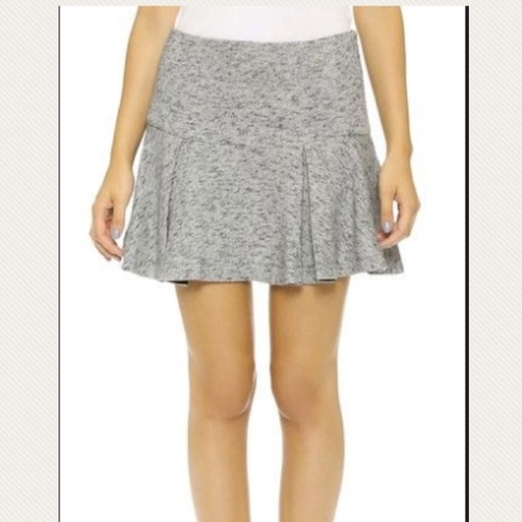 dff339042e 10 Crosby Derek Lam Dresses & Skirts - Derek Lam 10 Crosby Melange Flare  Skirt gray