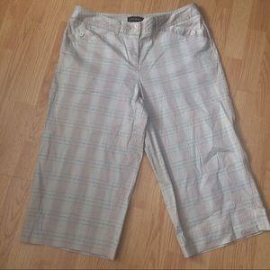 Lane Bryant Pants - Lane Bryant Cropped Pants