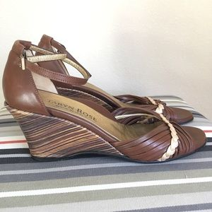 Taryn Rose Wedge Sandals