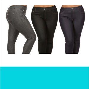 Pants - Jeggings 3 Pack