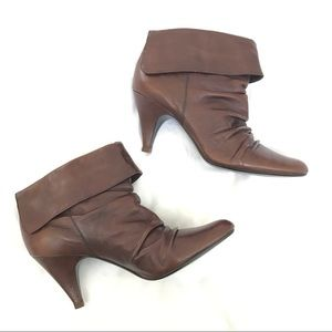 Steve Madden Aplegate Brown Leather Boots