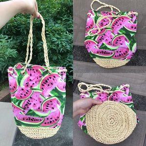 Handbags - 🍉 ONLY ONE🍉 Adorable beach bucket bag